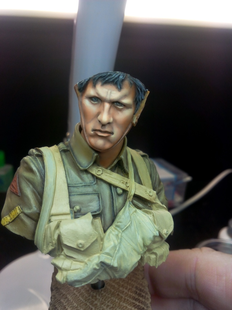 Buste Tommy Bataille de la somme Young miniatures, retour de Ransart Img_2039
