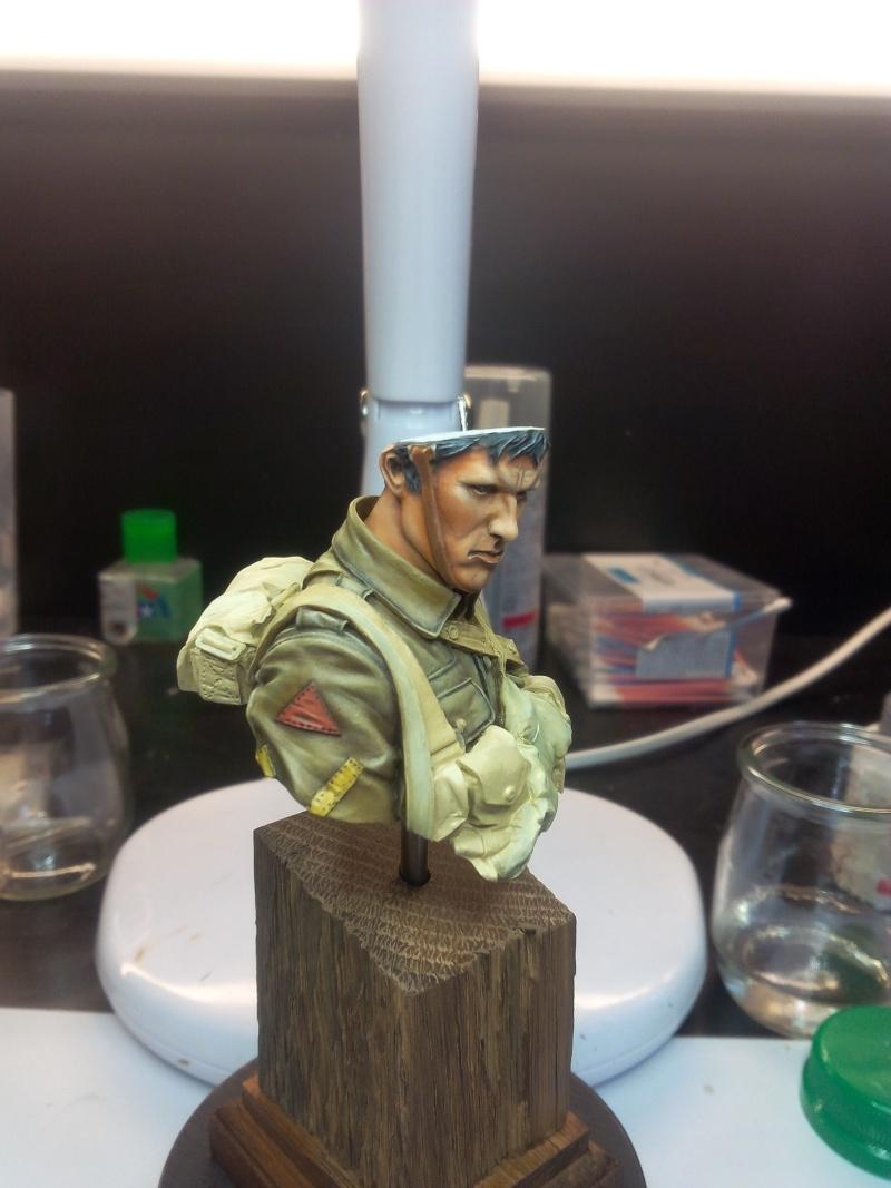 Buste Tommy Bataille de la somme Young miniatures, retour de Ransart Img_2044