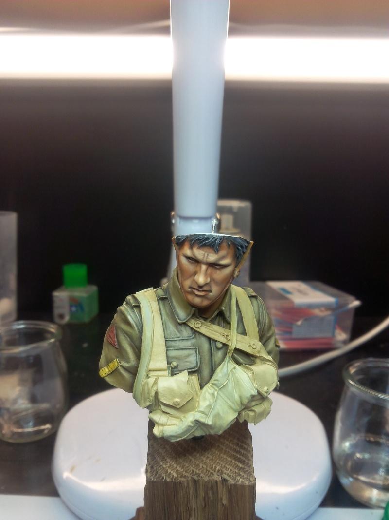 Buste Tommy Bataille de la somme Young miniatures, retour de Ransart Img_2045
