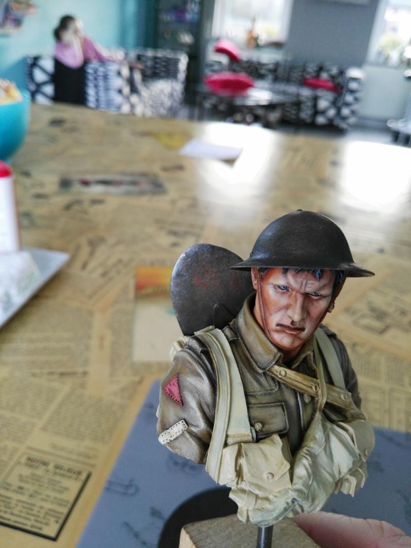 Buste Tommy Bataille de la somme Young miniatures, retour de Ransart Img_2049