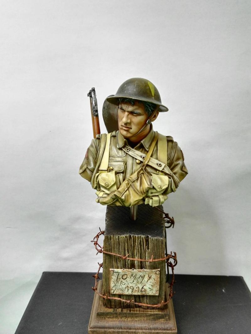 Buste Tommy Bataille de la somme Young miniatures, retour de Ransart - Page 2 Img_2078