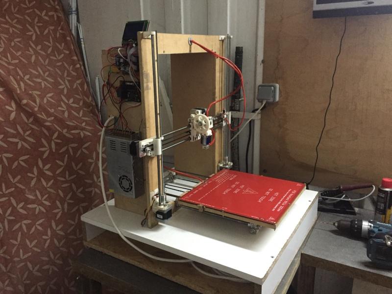 Imprimante 3D base prusa i3  Image210