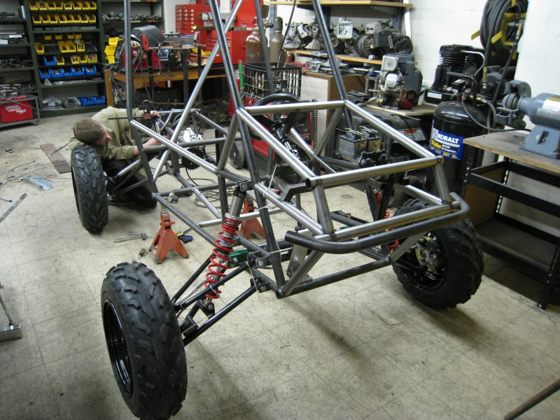 Dustin's 1986 Craftsman Woods Tractor - Full Suspension, Electric Conversion 2008-010