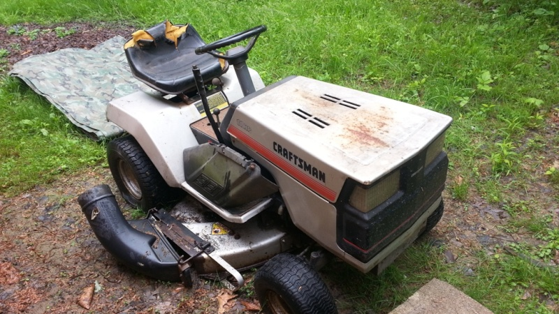 Dustin's 1986 Craftsman Woods Tractor - Full Suspension, Electric Conversion 20150512