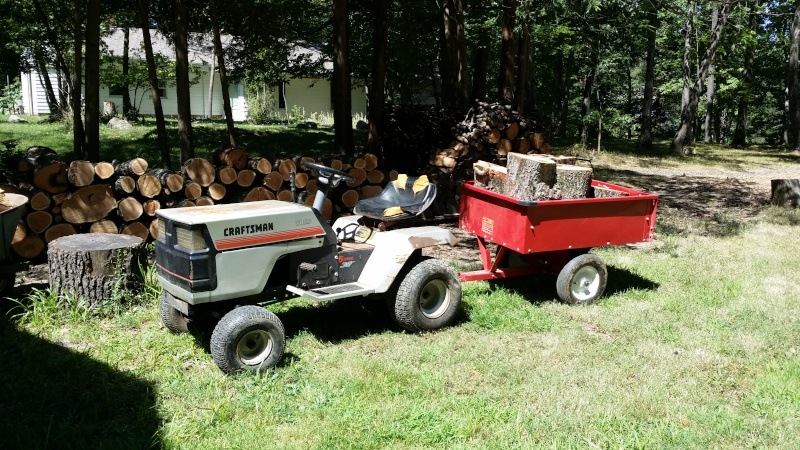 Dustin's 1986 Craftsman Woods Tractor - Full Suspension, Electric Conversion 20150813