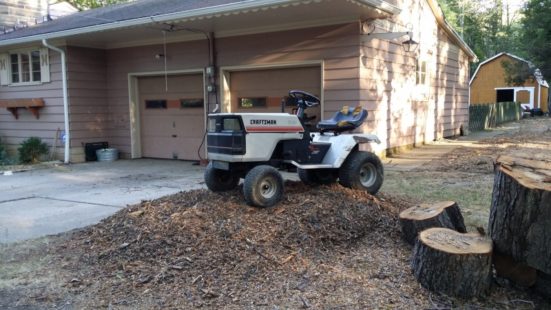 Dustin's 1986 Craftsman Woods Tractor - Full Suspension, Electric Conversion 20150814