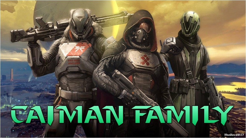 Caiman Family