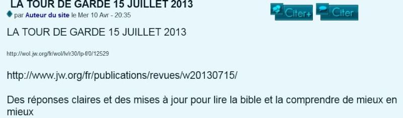 LA TOUR DE GARDE 15 JUILLET 2013 - Page 3 A110