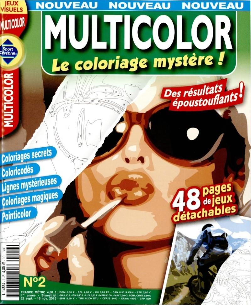 Multicolor , le coloriage mystère L458414