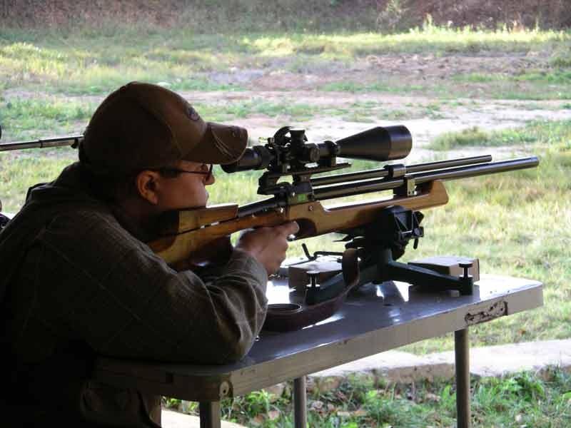 Спортивная стрельба из пневмотического оружия 113