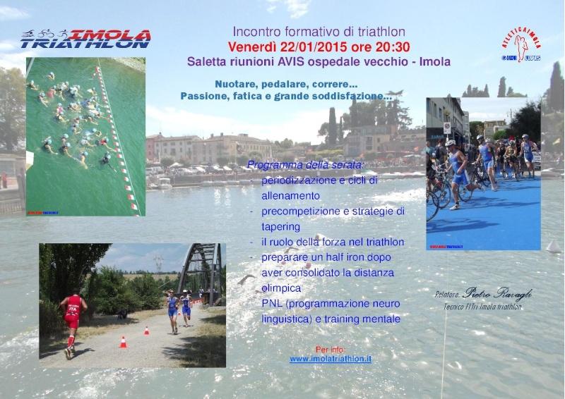 Incontro formativo di triathlon - venerdì 22 gennaio 2016 20160113