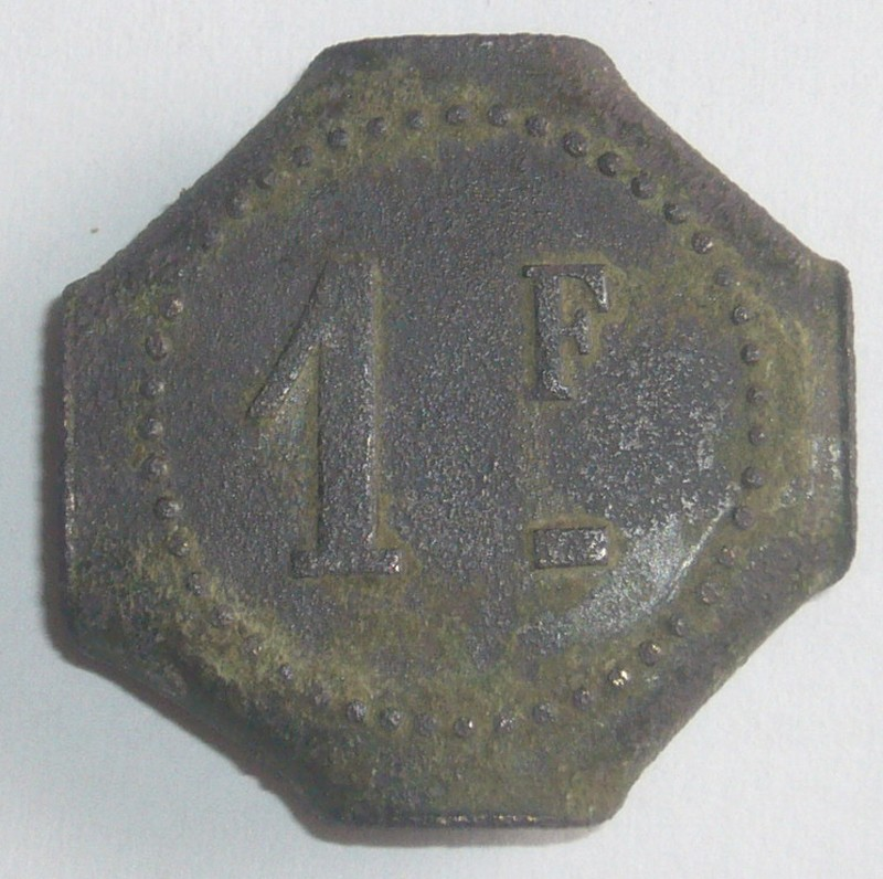 Jeton 1 franc bouillon-michon 1f-110