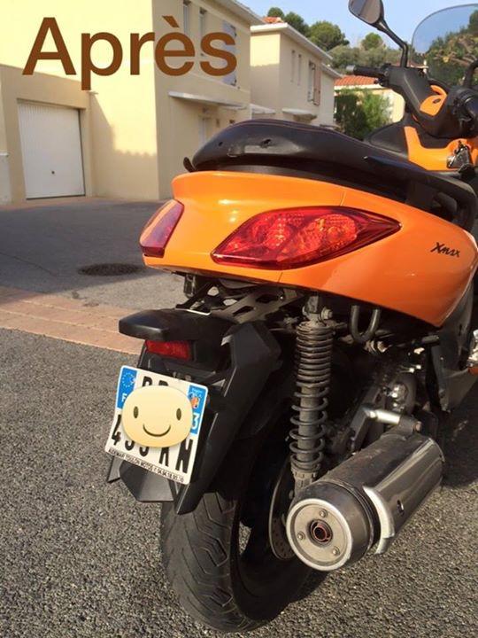 photos de xmax orange avec garde boue  de Tmax Img_0113