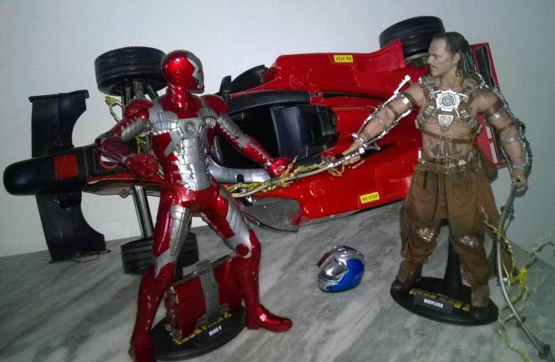 Diorama Iron Man 2 à Monaco Wp_20218