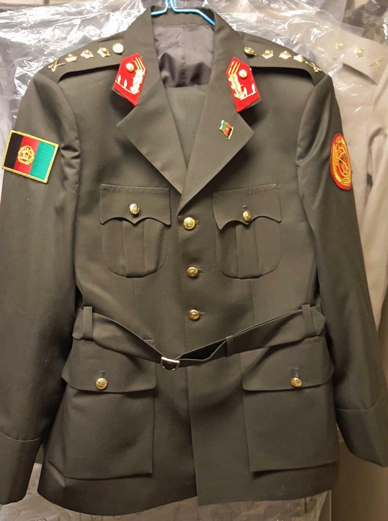 Afghan Dress uniforms 20160120