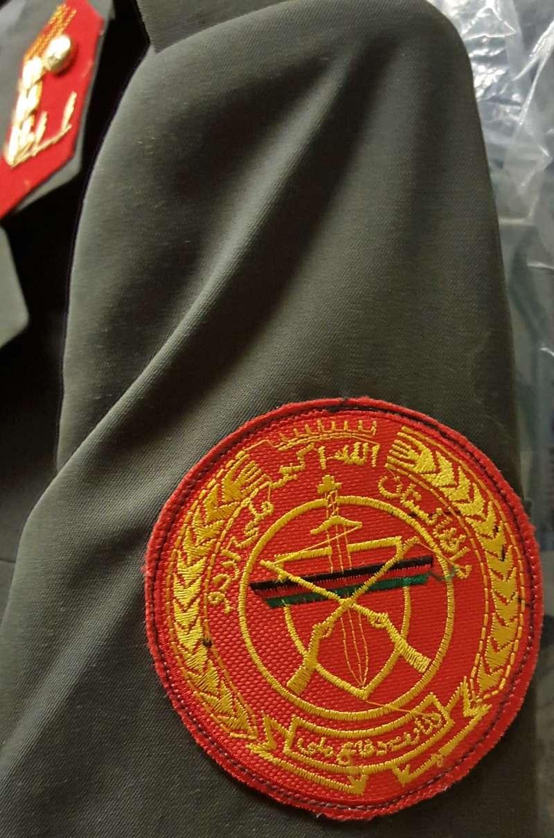 Afghan Dress uniforms 20160122