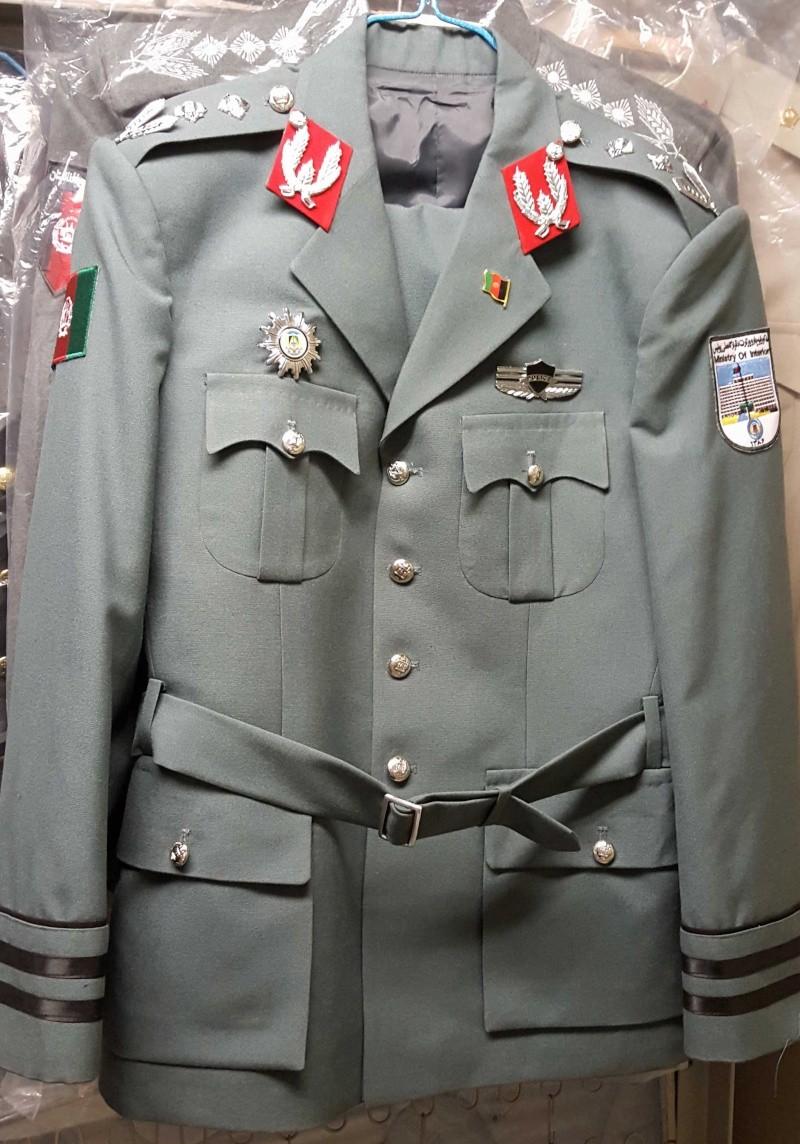 Afghan Dress uniforms 20160124