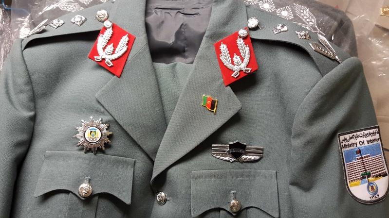 Afghan Dress uniforms 20160125