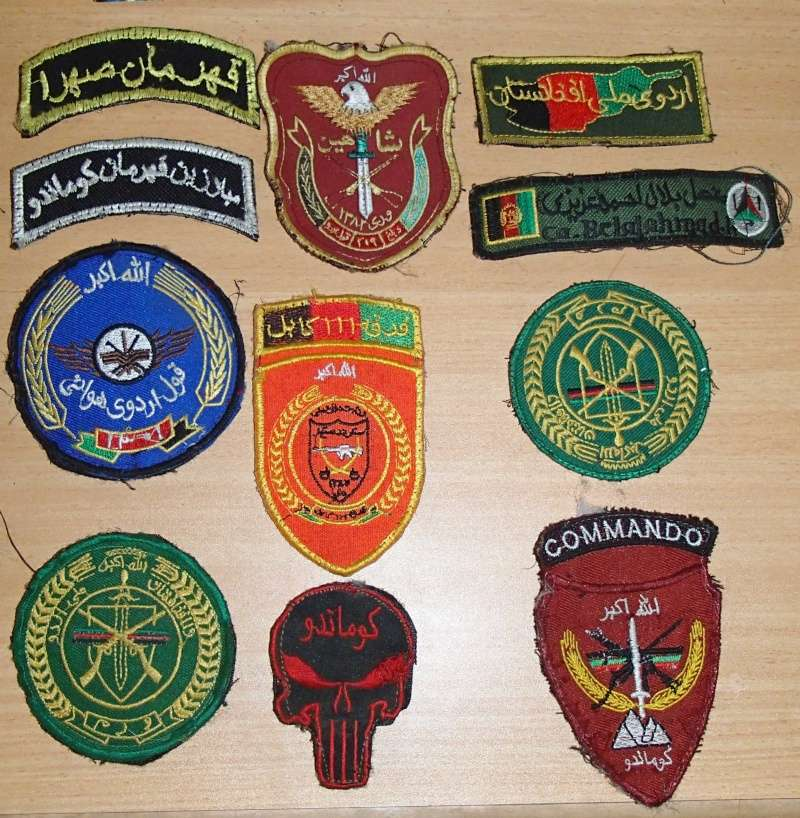 Afghan Patches from Bush Market Kabul P1260011