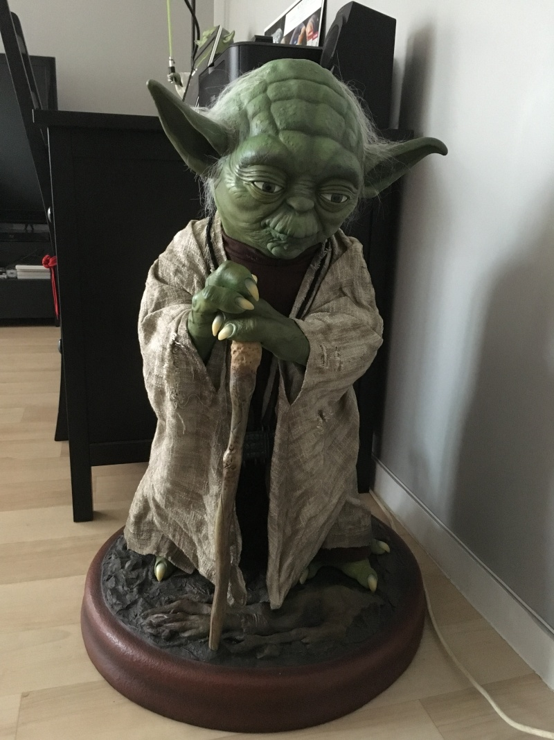 Star Wars - Statue taille 1/1 Yoda - Sideshow Collectibles Img_0010