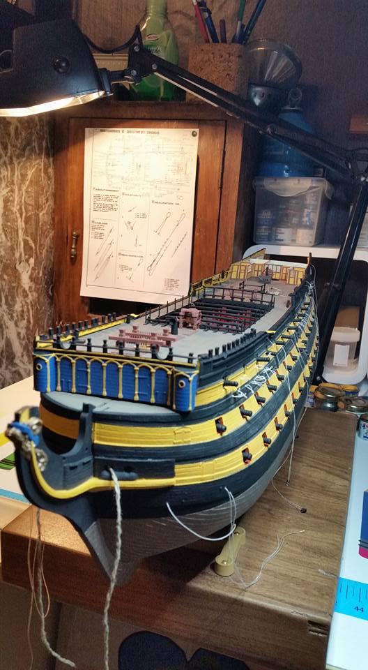 HMS VICTORY au 1/100ème de HELLER Vue_d_10