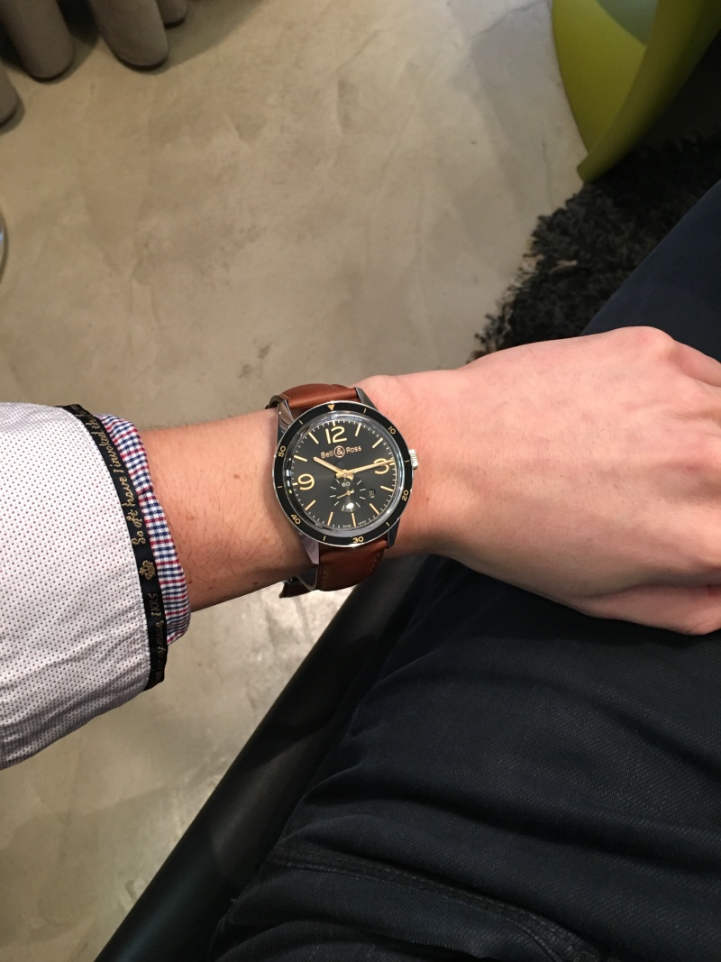 Bell & Ross BR03 / taille poignet Image12