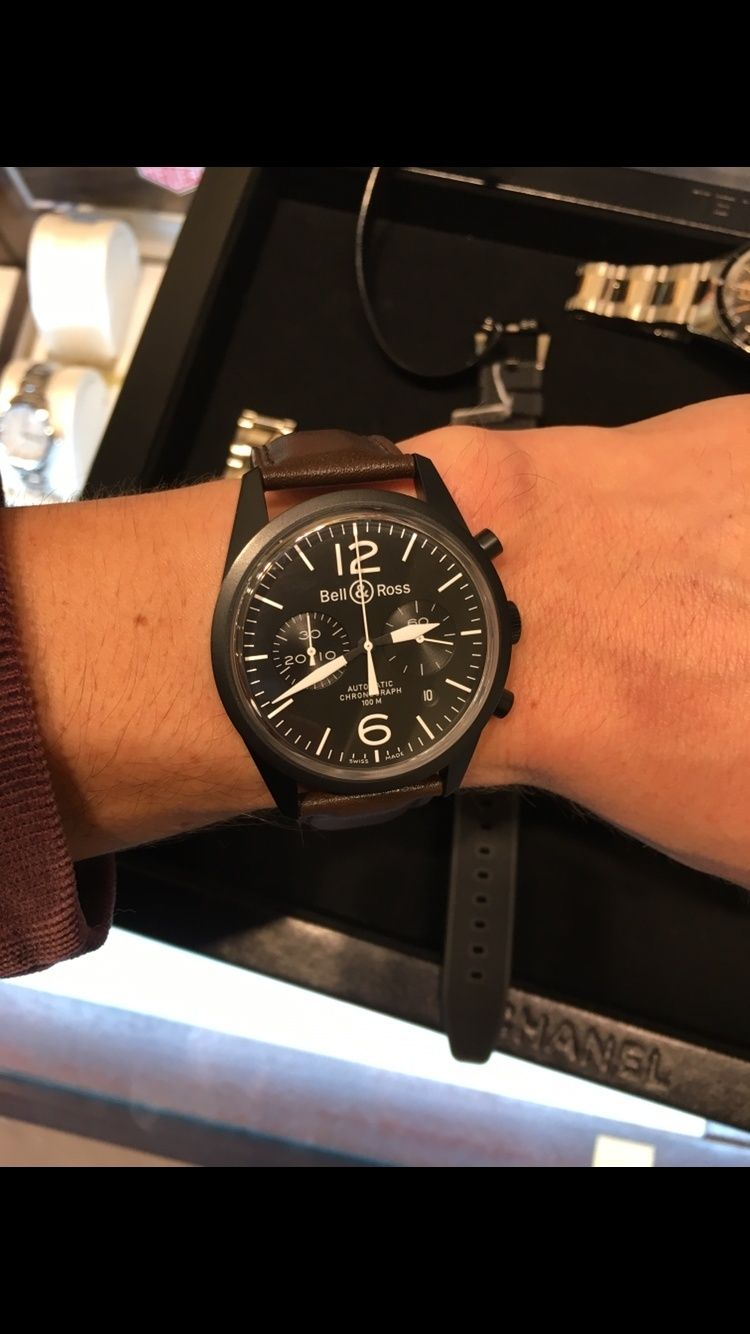 Bell & Ross BR03 / taille poignet Image14
