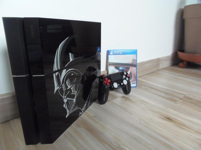 Une PS4 collector Star Wars désormais officiel Pb200211