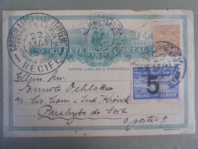 nach - LZ127 Fahrt nach Recife 22.5.1930 Xp104011