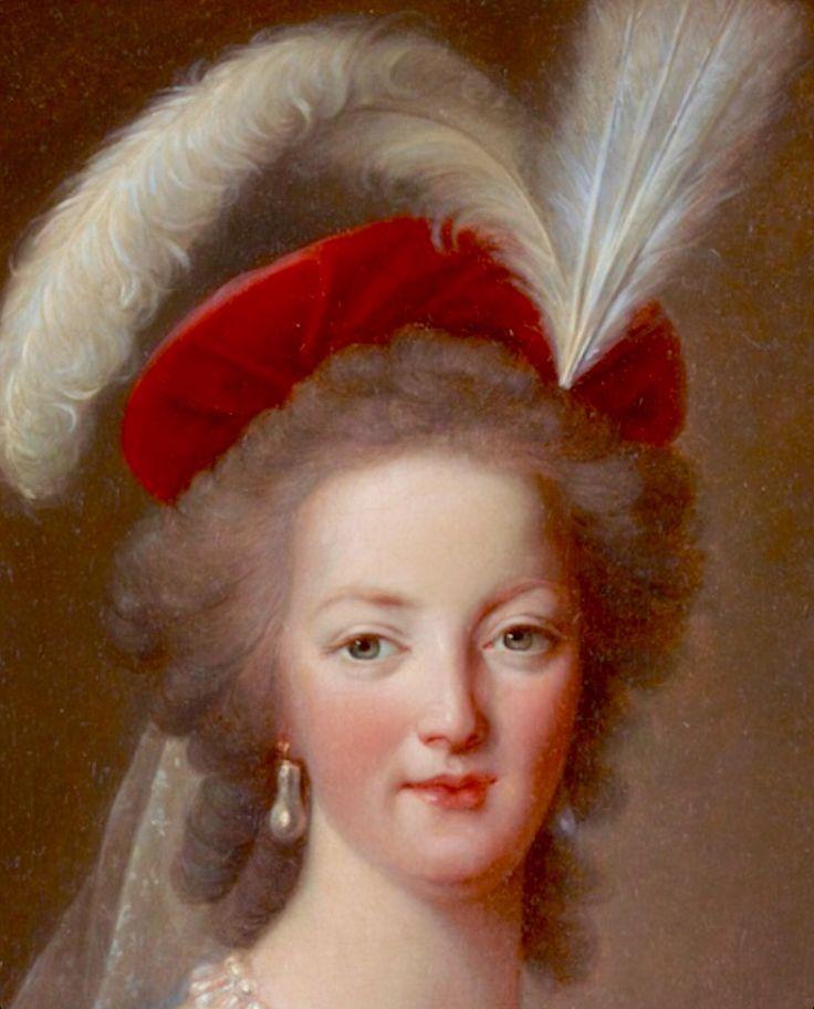 Marie-Antoinette en robe rouge sans ses enfants 9bece610