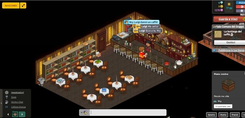 La nuova caffetteria di Nry Habbo10