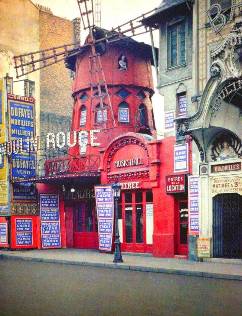 De rares photos en couleurs de Paris prises il y a 100 ans. Photos12