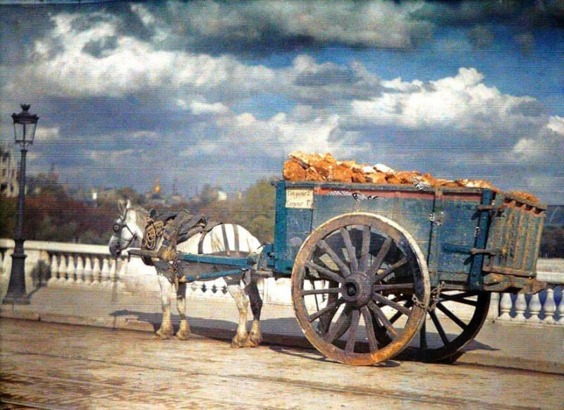 De rares photos en couleurs de Paris prises il y a 100 ans. Photos15