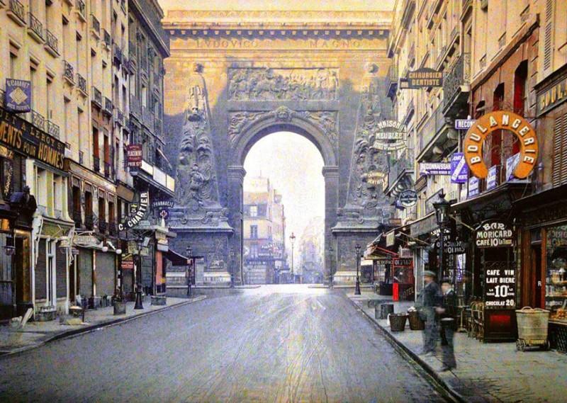 De rares photos en couleurs de Paris prises il y a 100 ans. Photos23