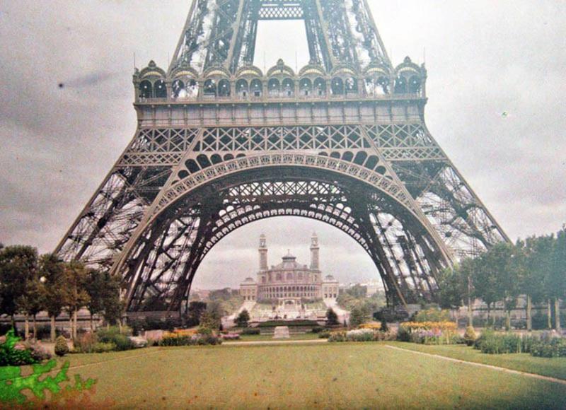 De rares photos en couleurs de Paris prises il y a 100 ans. Photos25