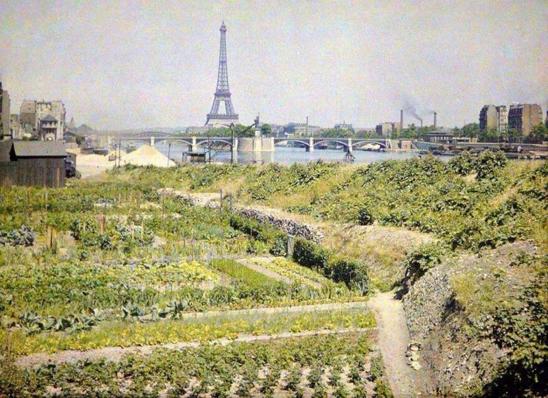 De rares photos en couleurs de Paris prises il y a 100 ans. Photos26