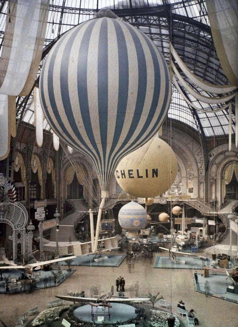 De rares photos en couleurs de Paris prises il y a 100 ans. Photos27