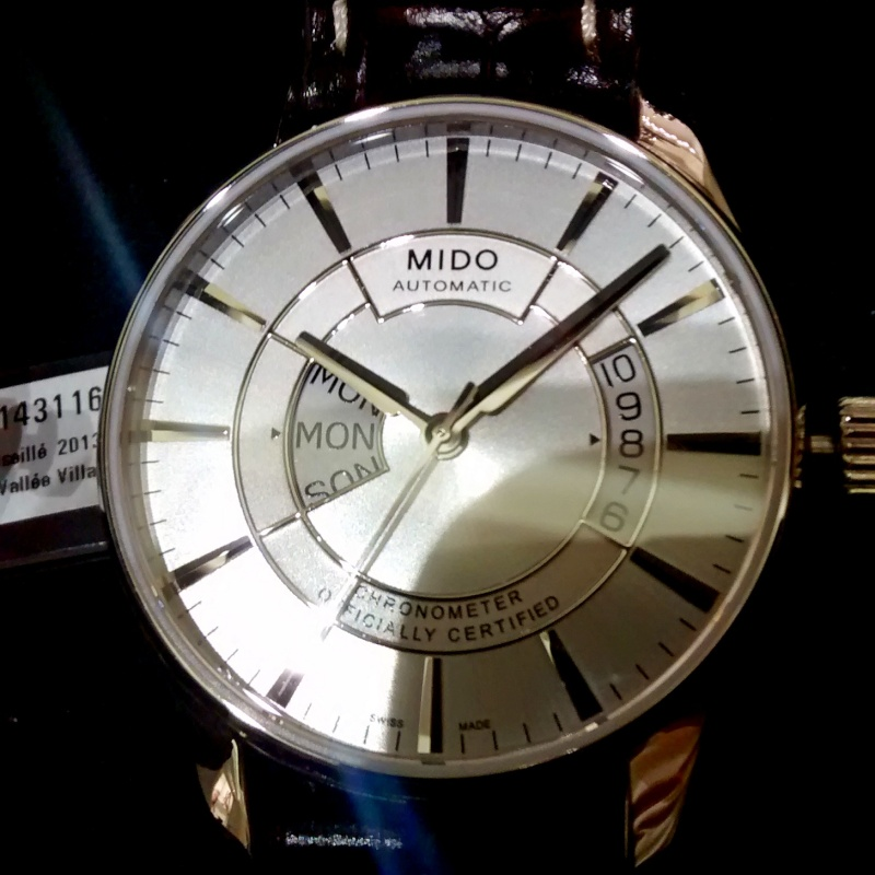 Mido - Seiko à prix normal ou Mido à -30% ? Tel_5714