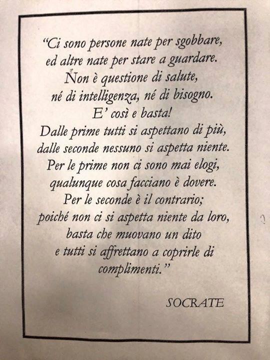 Dice il Saggio, citazioni di persone famose e di personaggi meno famosi - Pagina 2 Socrat10