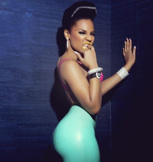 Ashanti displays her exotic curves Ashant10