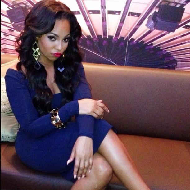 Ashanti displays her exotic curves Ashant13