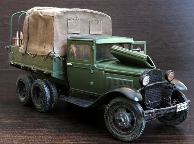Camion Russe  GAZ-AAA 1934/1943 Zvezda 1/35 terminé!!! Sam_9519