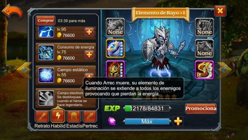 Elemento del Rayo Legendario Elemen10