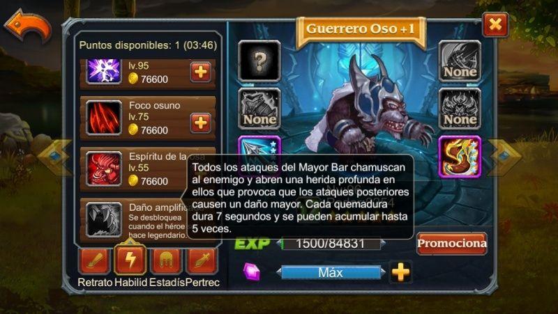 Guerrero Oso Legendario Guerre10