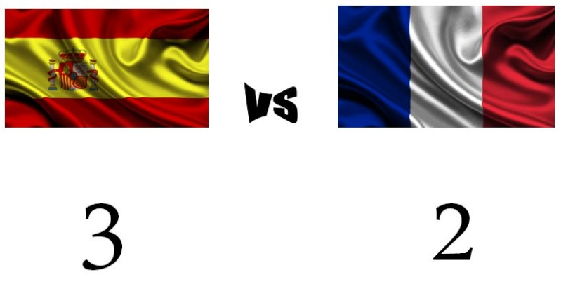 2º MATCH: SPAIN vs FRANCE  Result11