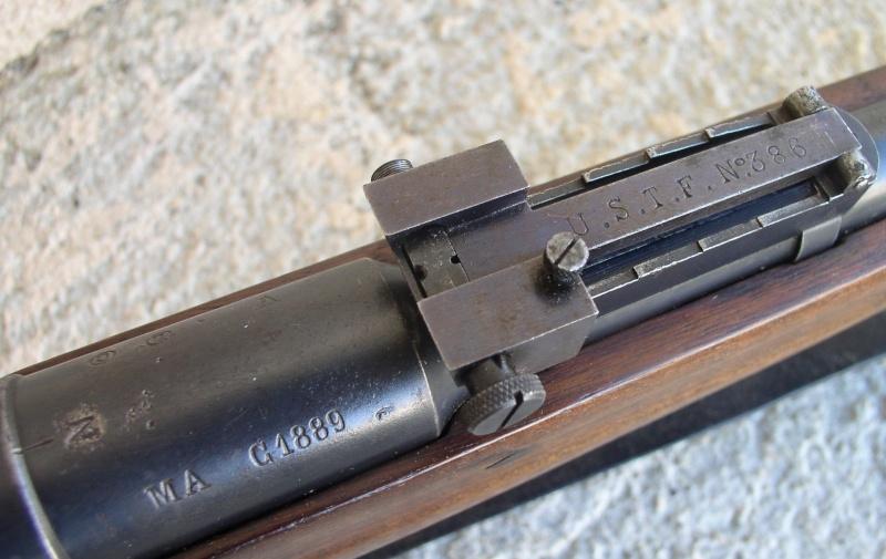 Hausse et guidon USTF pour fusil LEBEL Mod 1886 /93 517