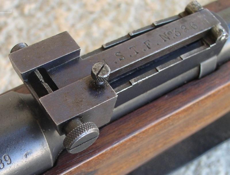 Hausse et guidon USTF pour fusil LEBEL Mod 1886 /93 619