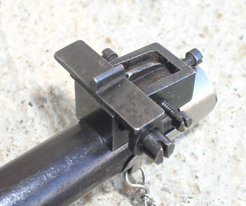 Hausse et guidon USTF pour fusil LEBEL Mod 1886 /93 821