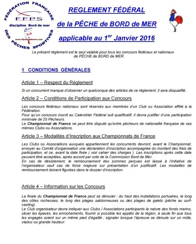 Fédération Françaises Des Pêches Sportives R110