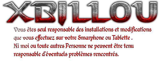 forum xbillou sur Android!
